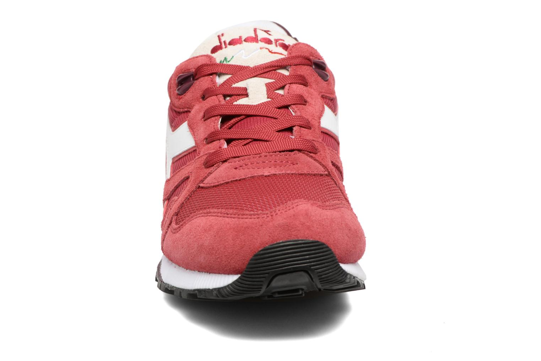 Sneaker Diadora N9000 III rot schuhe getragen