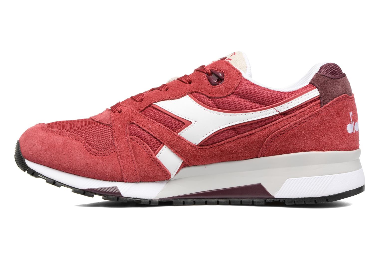 Sneaker Diadora N9000 III rot ansicht von vorne