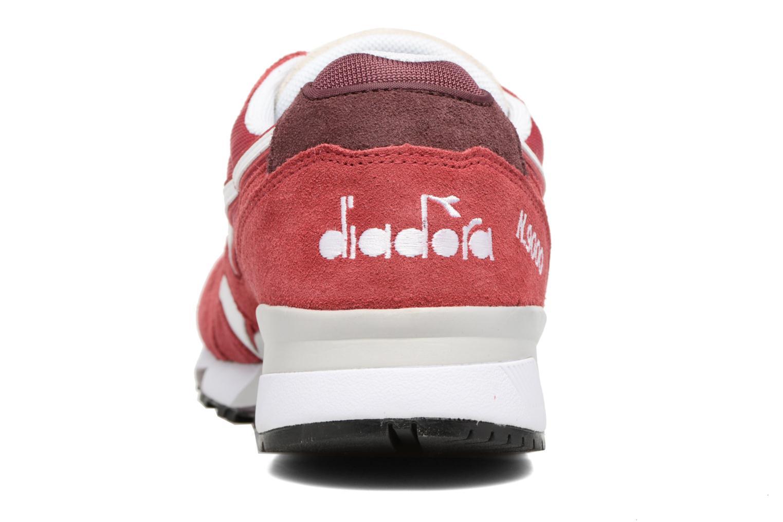 Sneakers Diadora N9000 III Röd Bild från höger sidan