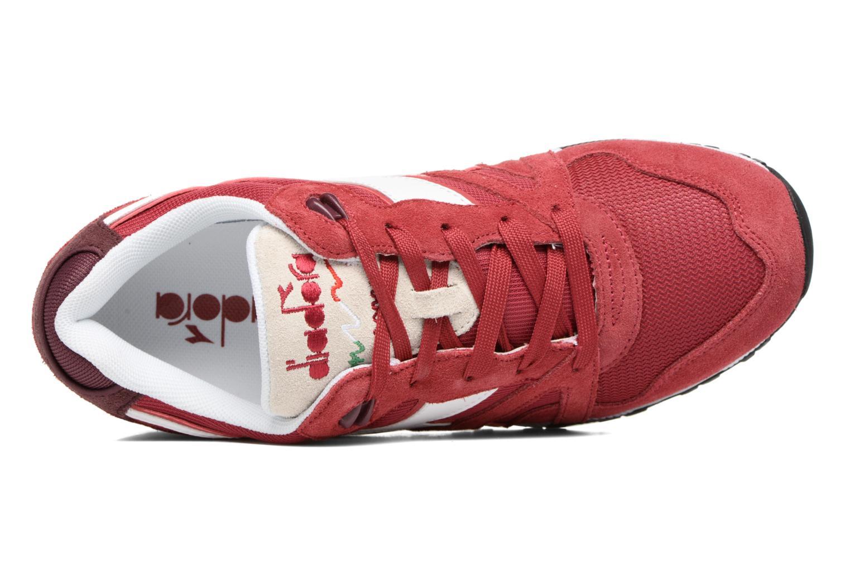 Sneaker Diadora N9000 III rot ansicht von links