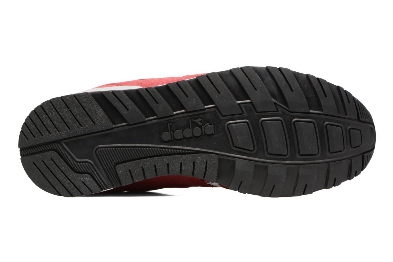 Sneaker Diadora N9000 III rot ansicht von oben