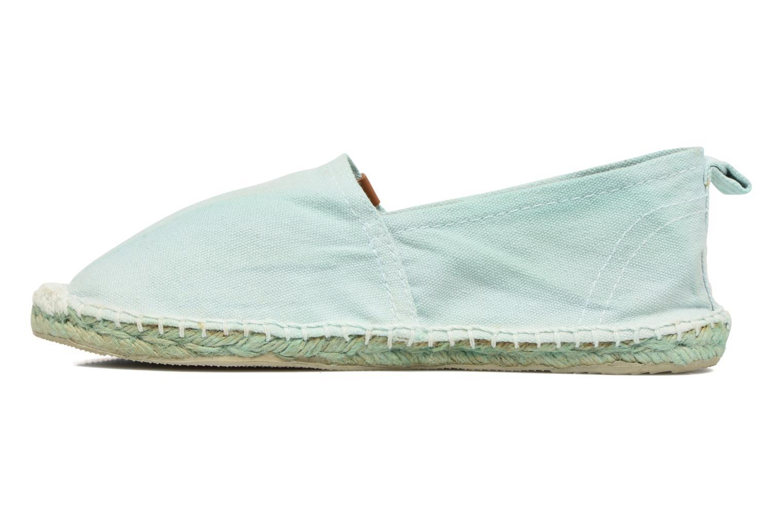 Espadrilles Coolway Janira blau ansicht von vorne