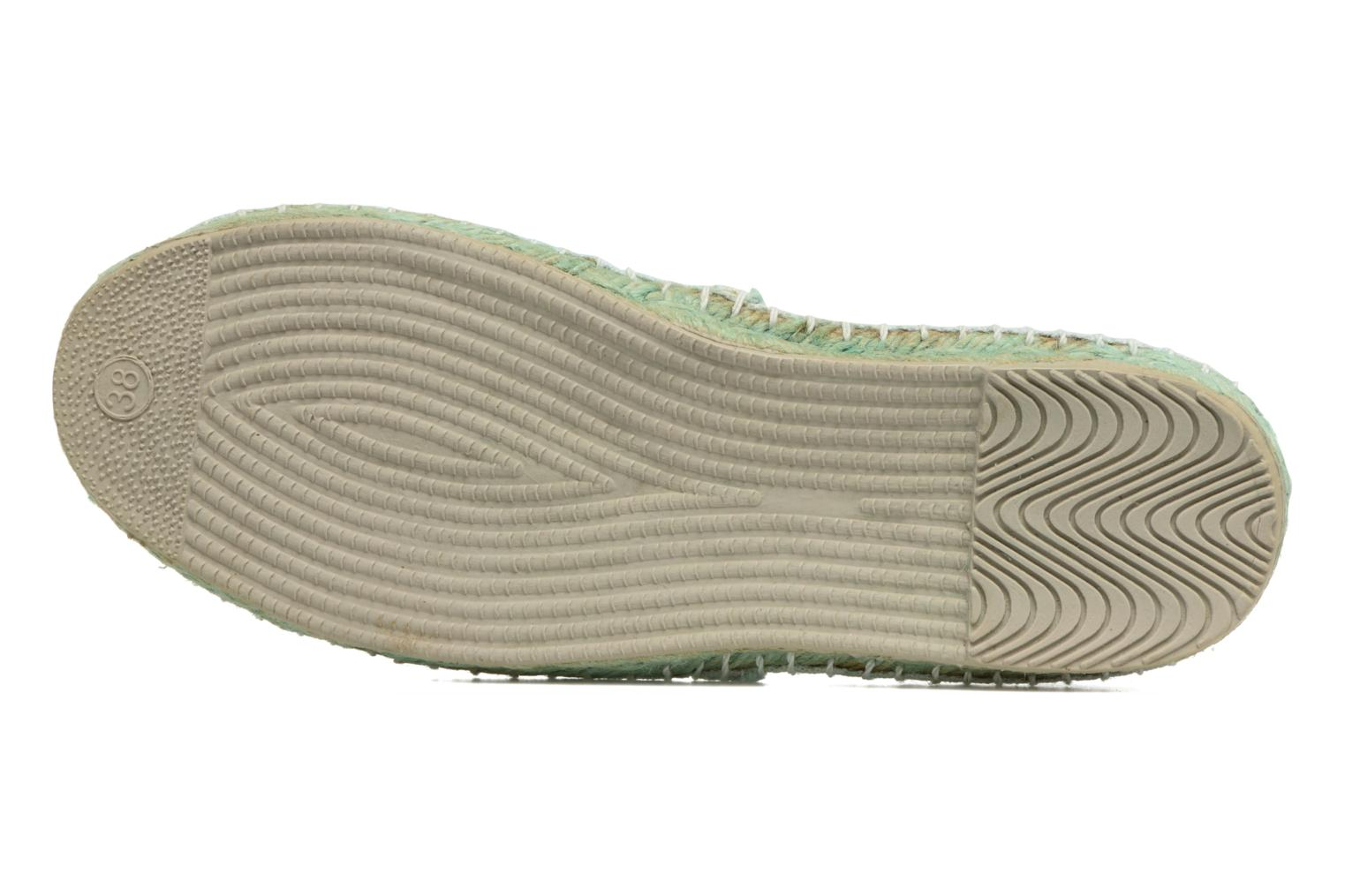 Espadrilles Coolway Janira Blue view from above