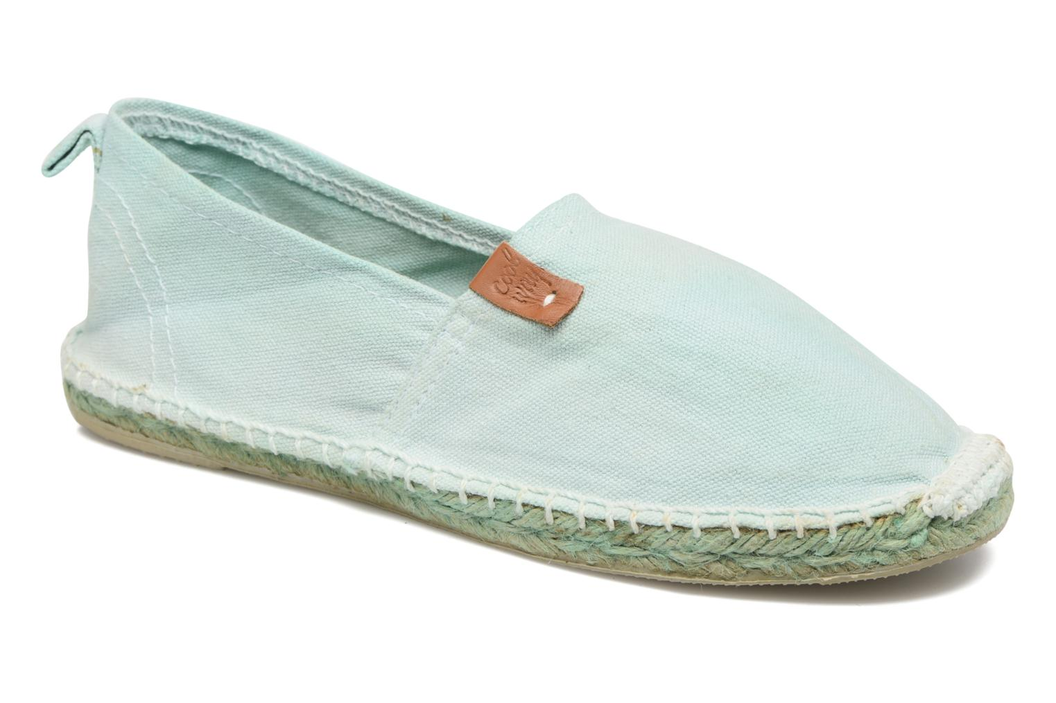 Espadrilles Coolway Janira Blue detailed view/ Pair view