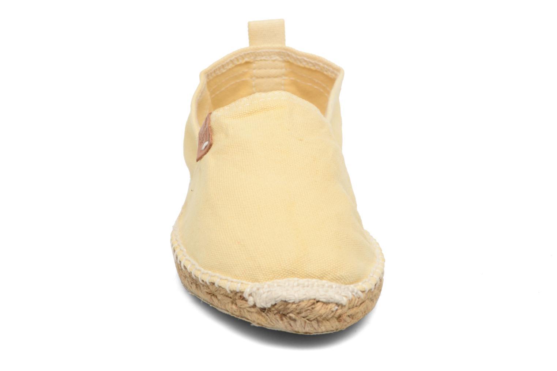 Espadrilles Coolway Jori Jaune vue portées chaussures
