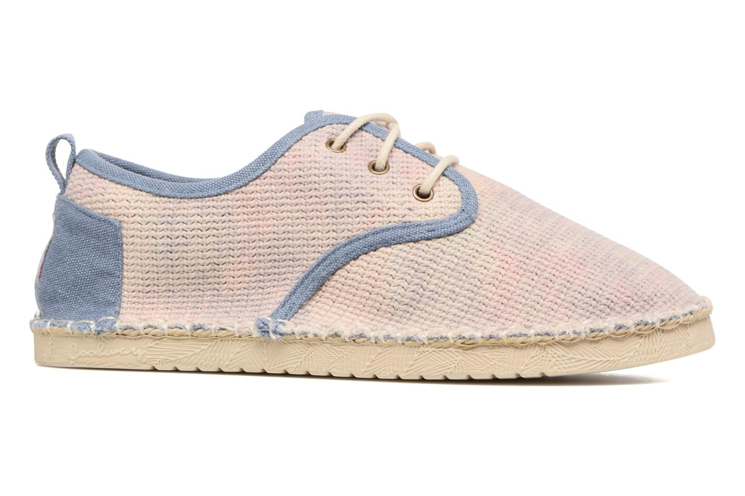 Lace-up shoes Coolway Trebol Brown back view