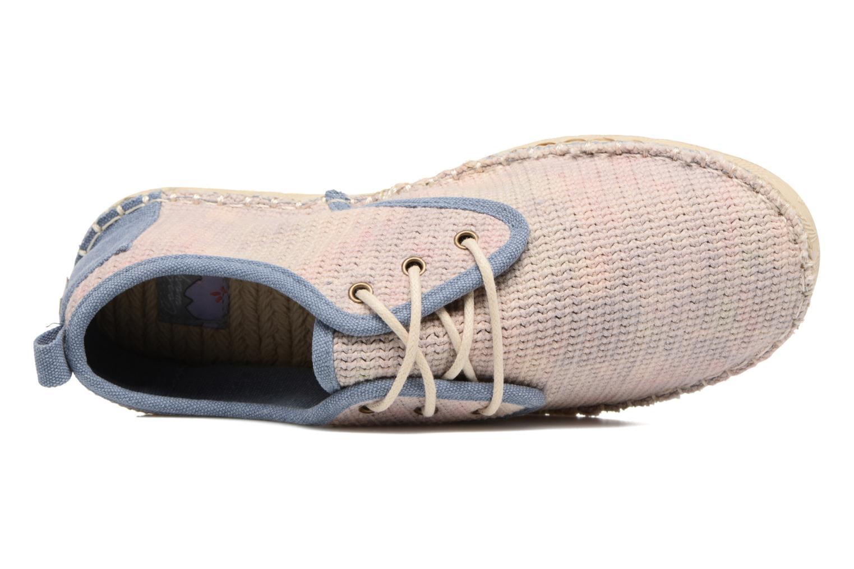 Zapatos con cordones Coolway Trebol Marrón vista lateral izquierda