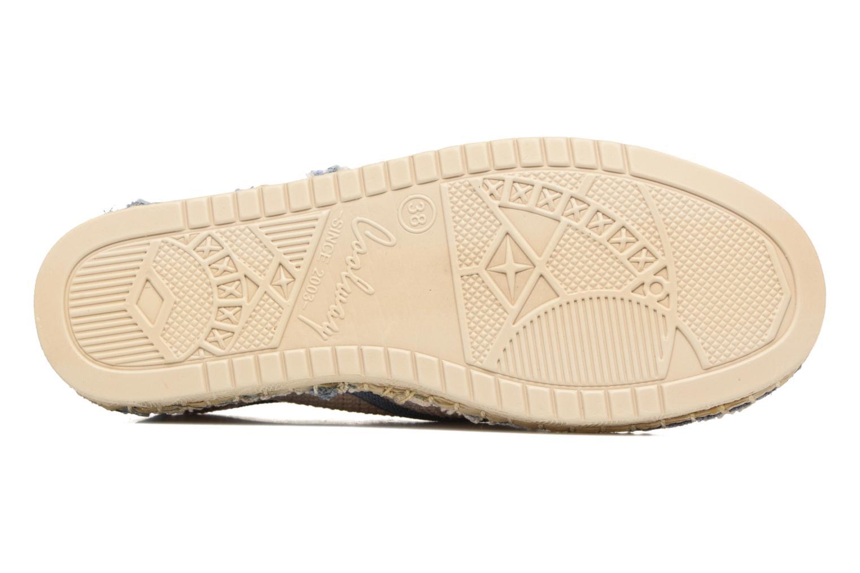 Zapatos con cordones Coolway Trebol Marrón vista de arriba