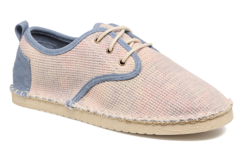 Zapatos con cordones Coolway Trebol Marrón vista de detalle / par