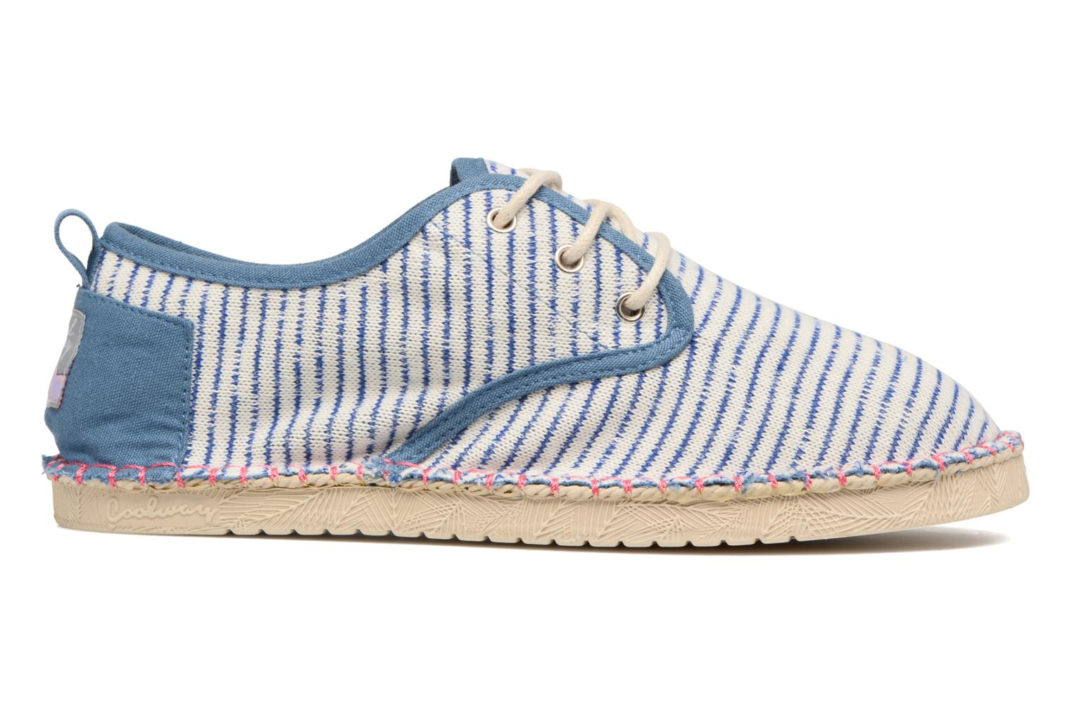 Lace-up shoes Coolway Trebol Blue back view