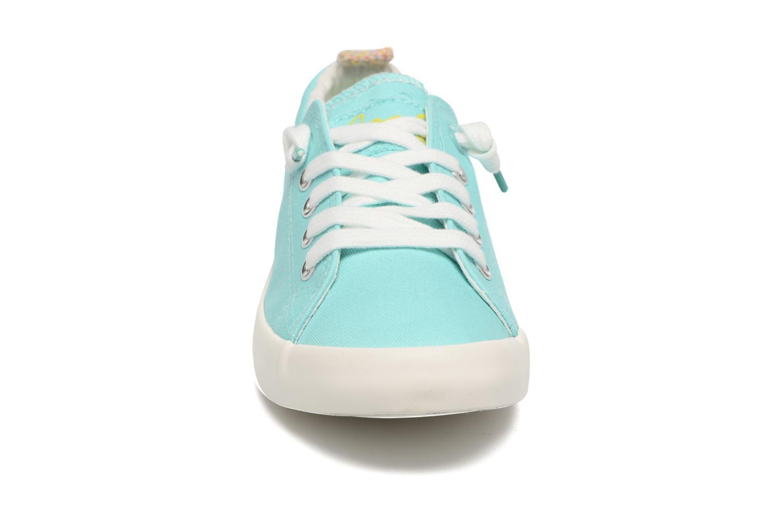 Zapatos con cordones Coolway Tuna Azul vista del modelo