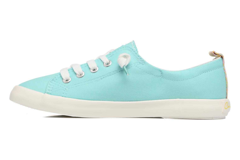 Zapatos con cordones Coolway Tuna Azul vista de frente