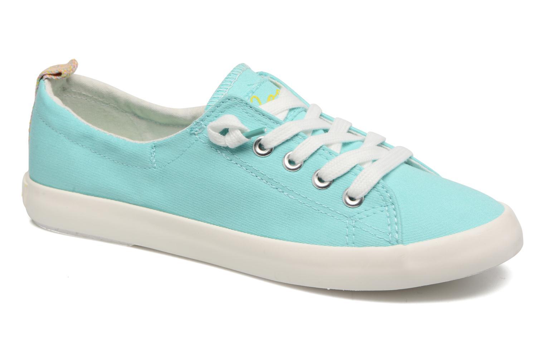 Zapatos con cordones Coolway Tuna Azul vista de detalle / par