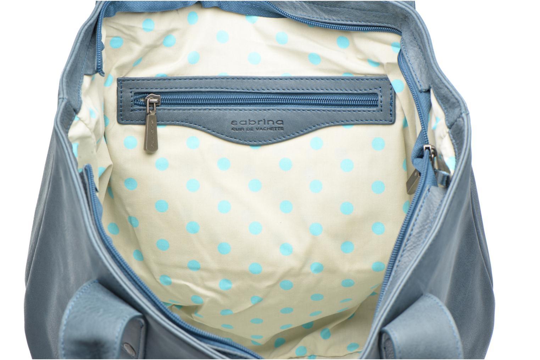 Handtassen Sabrina Marianne Blauw achterkant