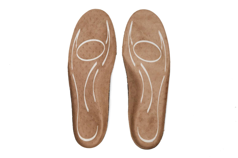 Semelle anti-choc anatomique anti-odeur marron