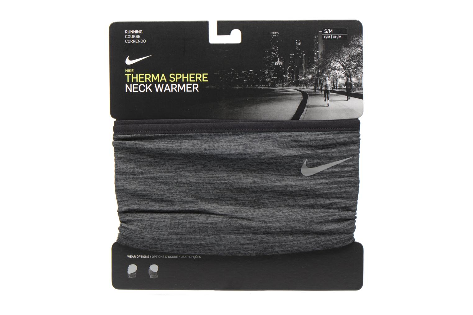 Miscellaneous Nike NIKE RUN THERMA SPHERE NECK WARMER Grey detailed view/ Pair view