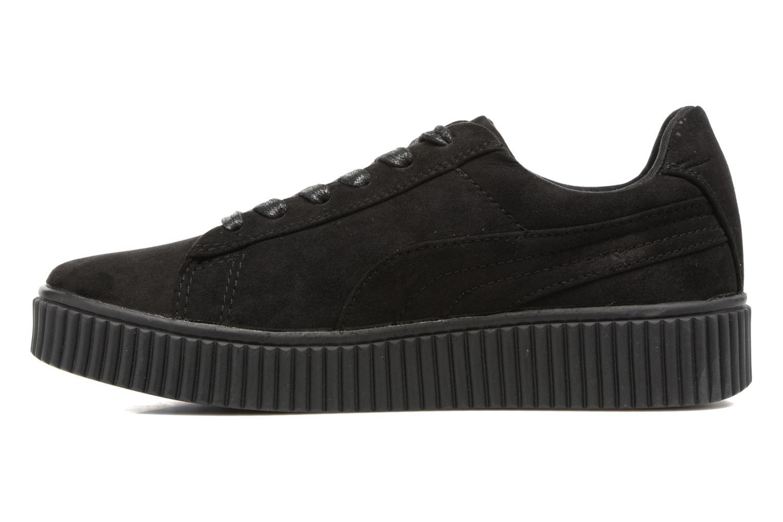 Sneakers Molly Bracken Black Flowers Nero immagine frontale