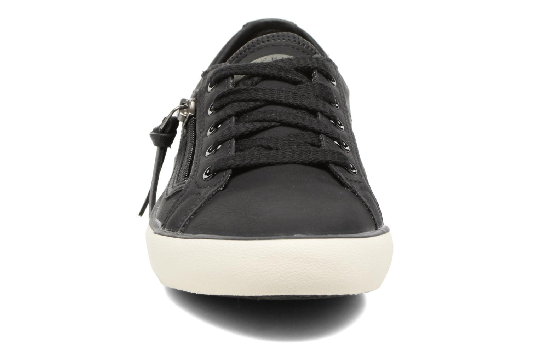 Sneaker Esprit Vera zip lou schwarz schuhe getragen