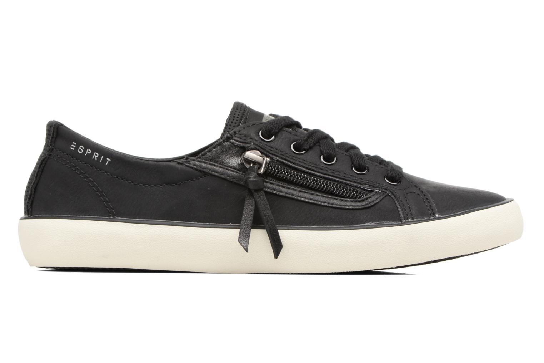 Sneaker Esprit Vera zip lou schwarz ansicht von hinten