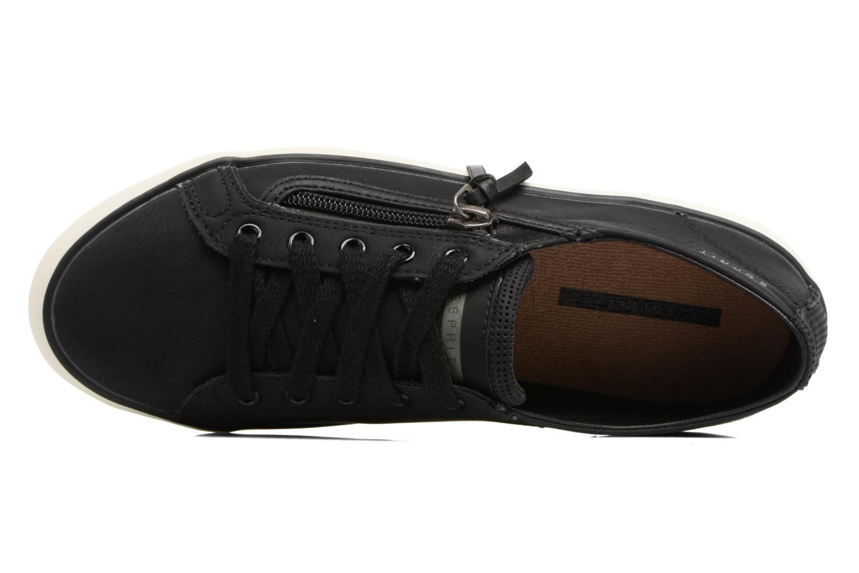 Baskets Esprit Vera zip lou Noir vue gauche