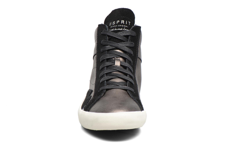 Baskets Esprit Vera Bootie Gris vue portées chaussures