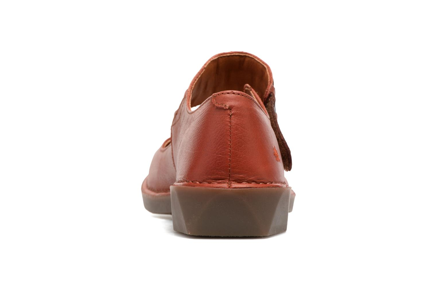 Ballerines Art BERGEN 1210 Orange vue droite