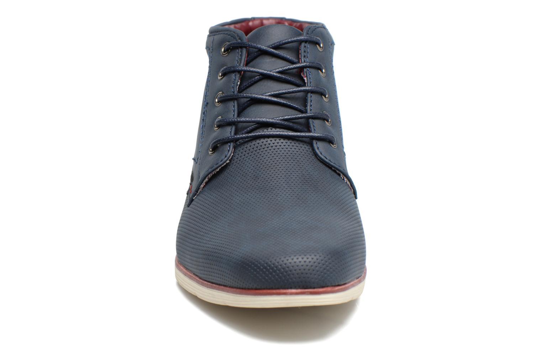 Scarpe con lacci I Love Shoes SIDOINE Azzurro modello indossato