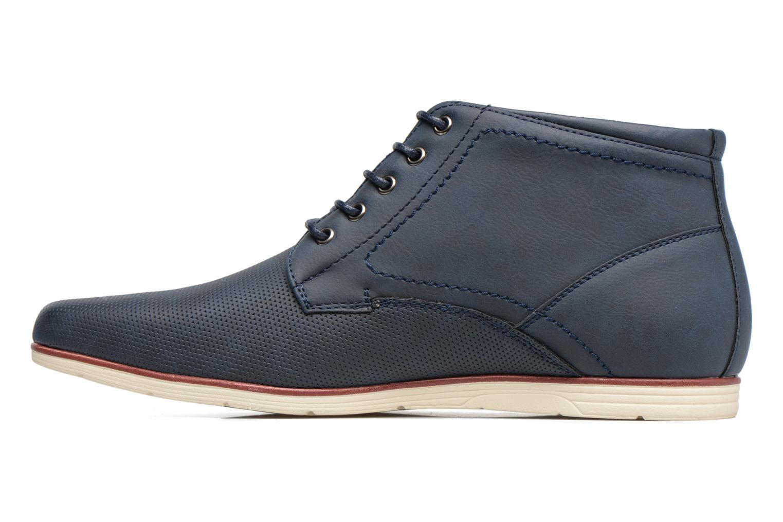Scarpe con lacci I Love Shoes SIDOINE Azzurro immagine frontale