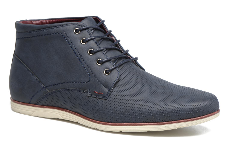 Snøresko I Love Shoes SIDOINE Blå detaljeret billede af skoene
