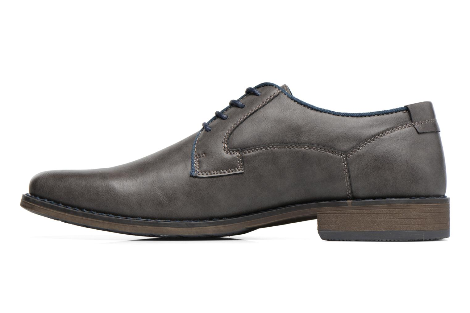 Lace-up shoes I Love Shoes SIGMUND Grey front view