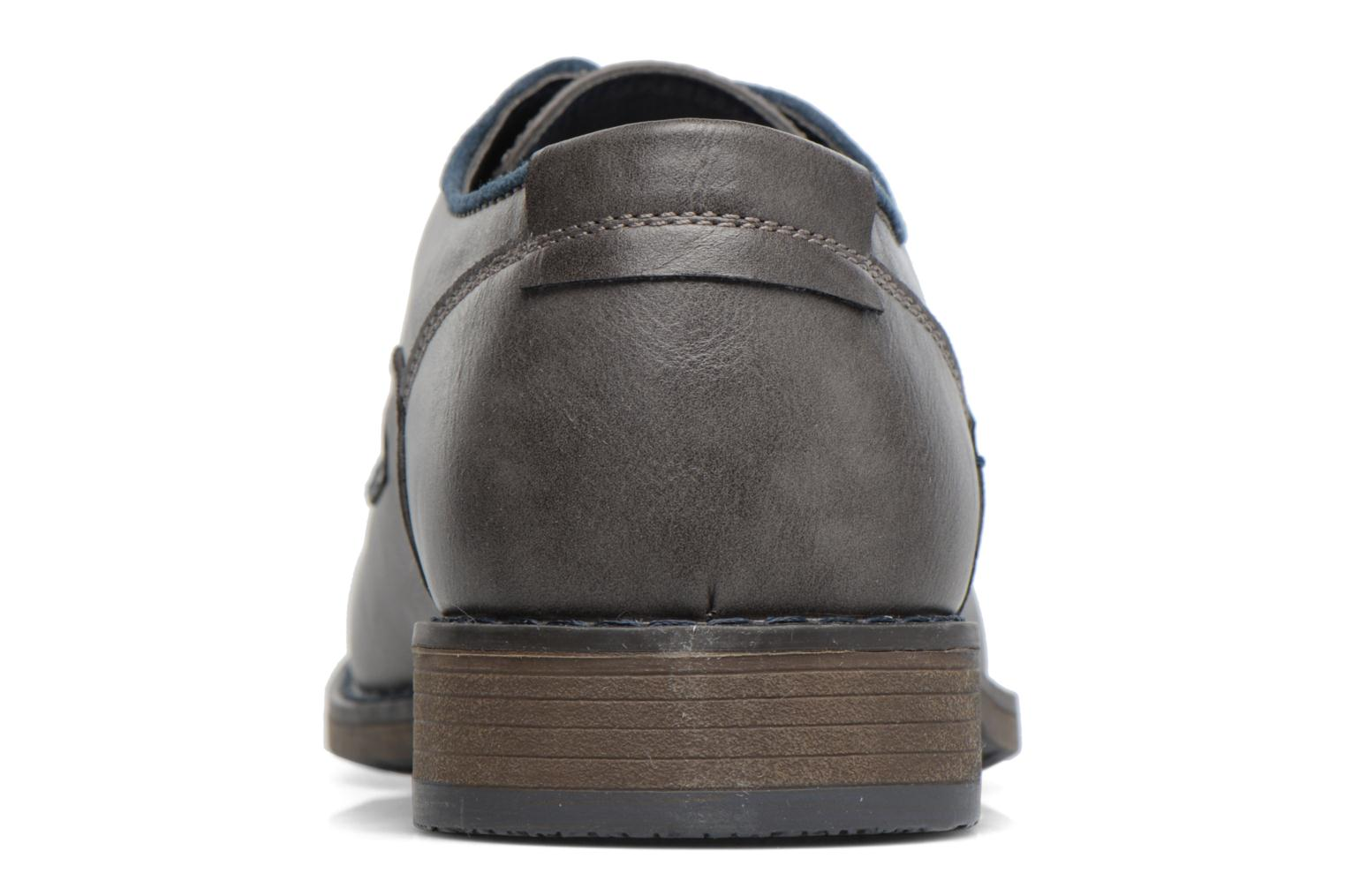 Lace-up shoes I Love Shoes SIGMUND Grey view from the right