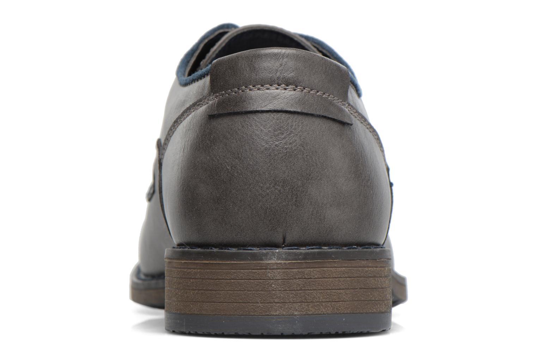 Schnürschuhe I Love Shoes SIGMUND grau ansicht von rechts