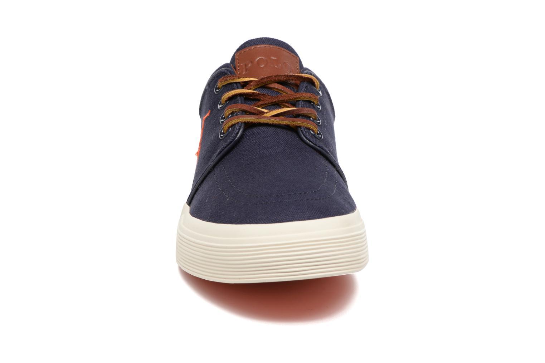 Sneaker Polo Ralph Lauren Faxon Low-Ne blau schuhe getragen