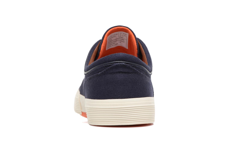 Sneaker Polo Ralph Lauren Faxon Low-Ne blau ansicht von rechts