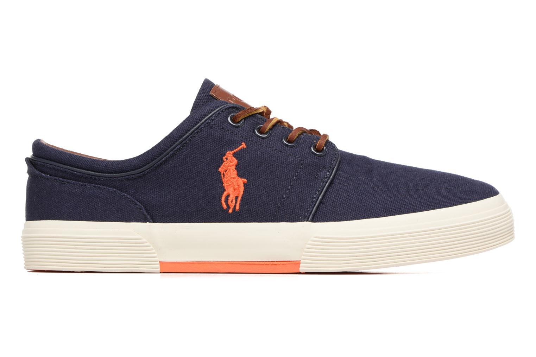 Sneaker Polo Ralph Lauren Faxon Low-Ne blau ansicht von hinten