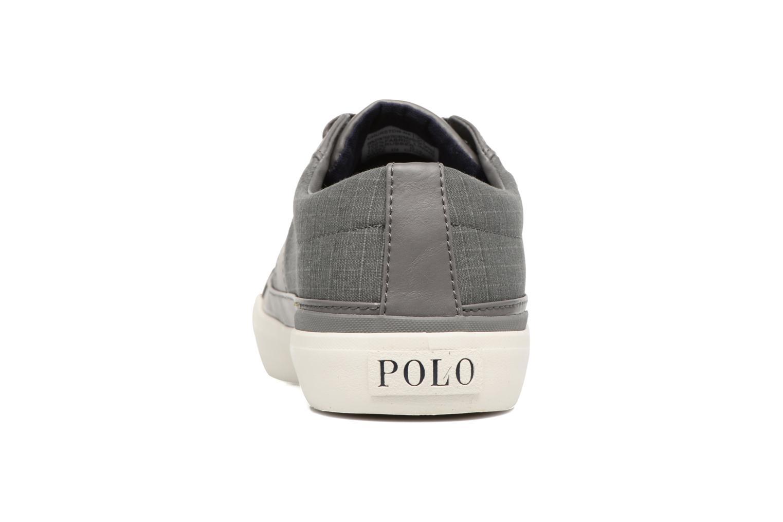 Baskets Polo Ralph Lauren Churston-Ne Gris vue droite