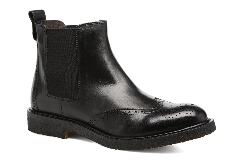 Ankelstøvler Billi Bi Hagen Sort detaljeret billede af skoene