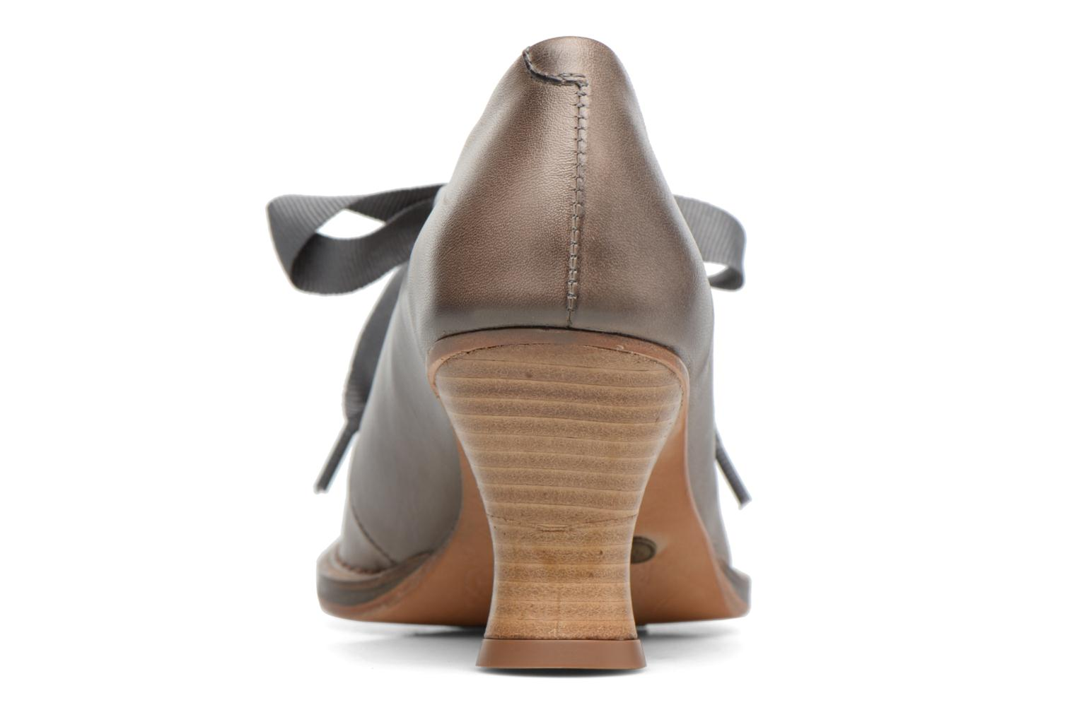 Lace-up shoes Neosens ROCOCO S833 Grey view from the right