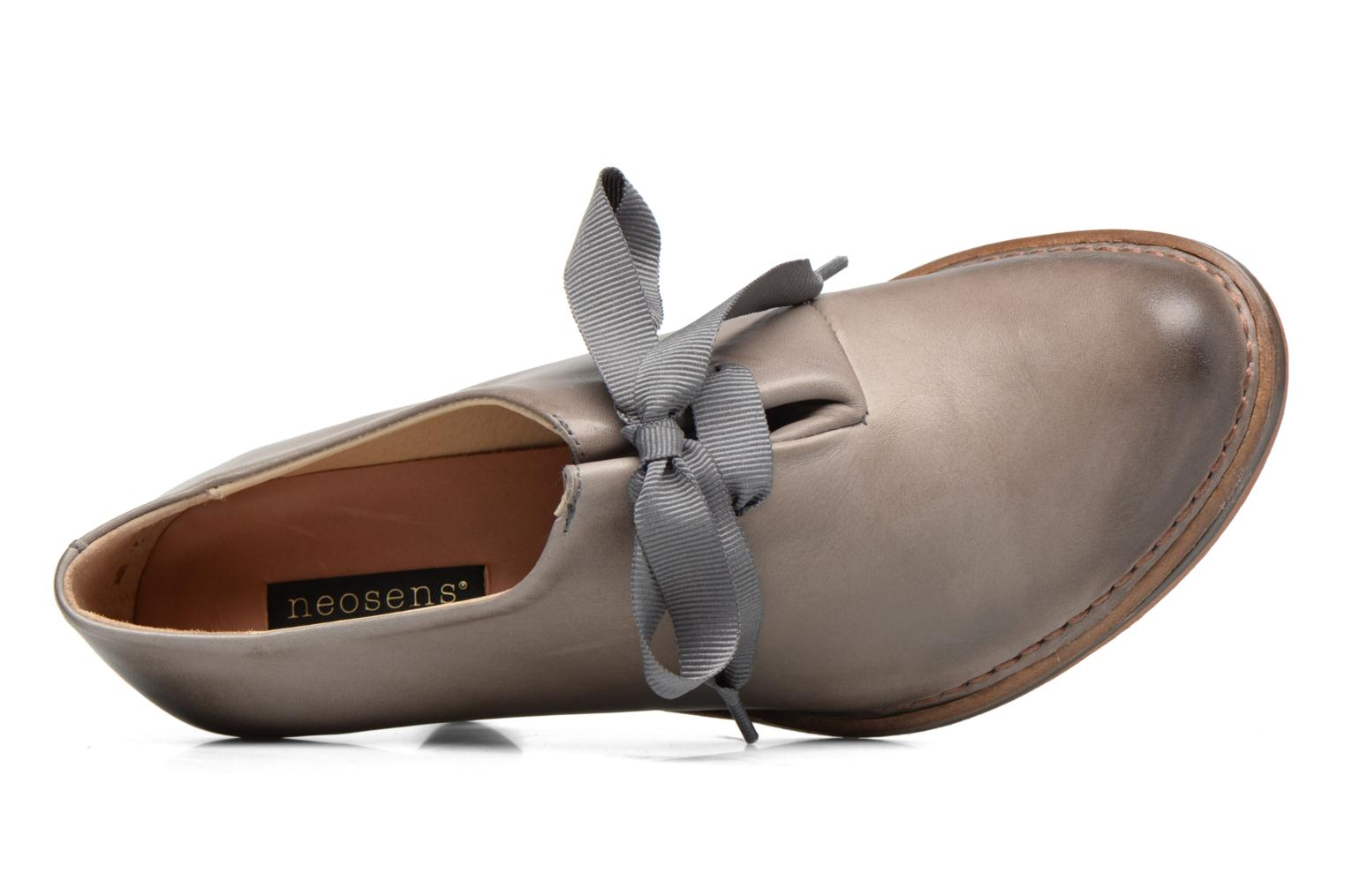 Lace-up shoes Neosens ROCOCO S833 Grey view from the left
