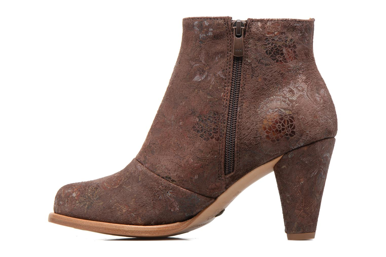 Ankle boots Neosens BEBA S932 Brown front view