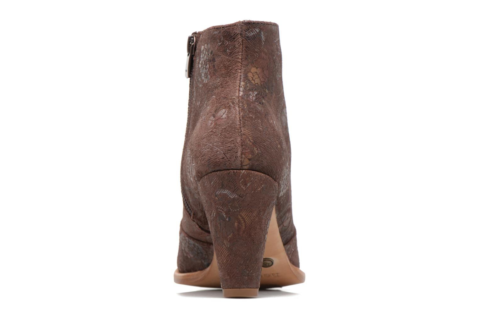 Ankle boots Neosens BEBA S932 Brown view from the right