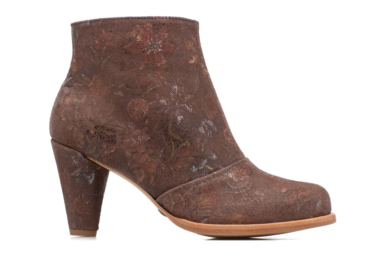 Ankle boots Neosens BEBA S932 Brown back view