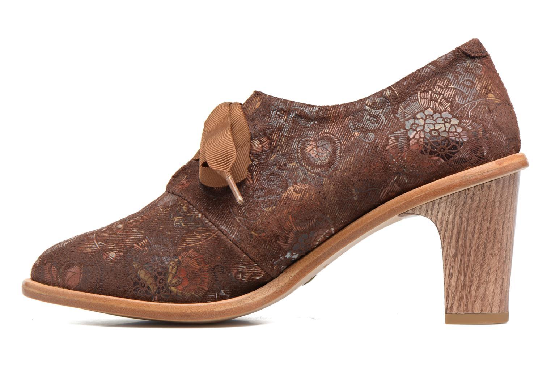 Zapatos con cordones Neosens CYNTHIA S534 Marrón vista de frente