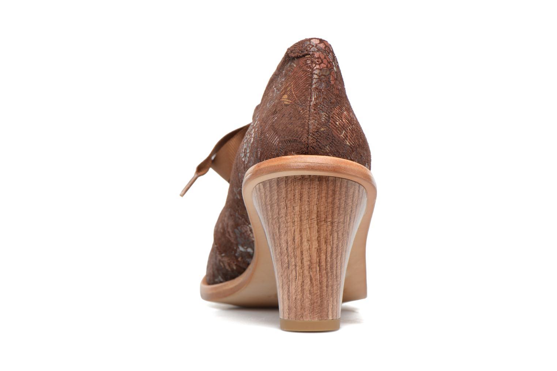 Chaussures à lacets Neosens CYNTHIA S534 Marron vue droite
