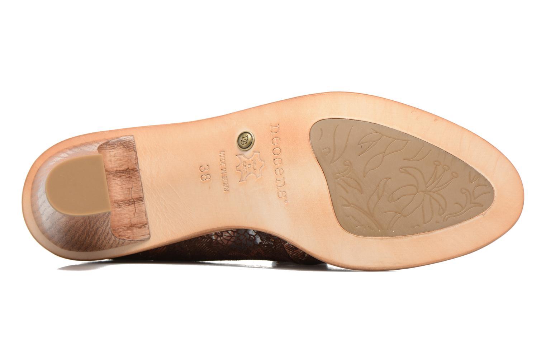 Zapatos con cordones Neosens CYNTHIA S534 Marrón vista de arriba