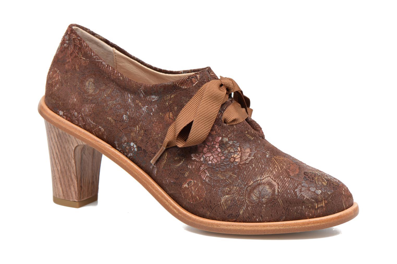 Zapatos con cordones Neosens CYNTHIA S534 Marrón vista de detalle / par