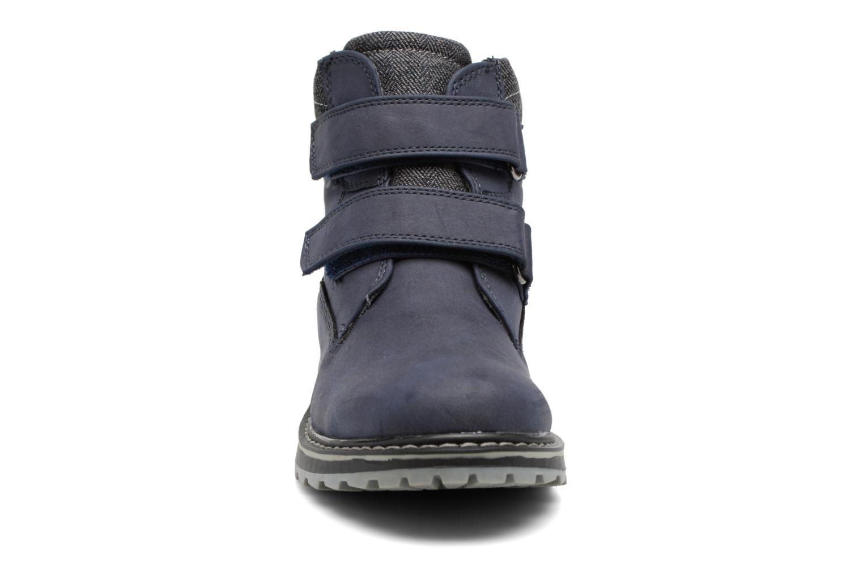 Stivaletti e tronchetti I Love Shoes GALLON Azzurro modello indossato