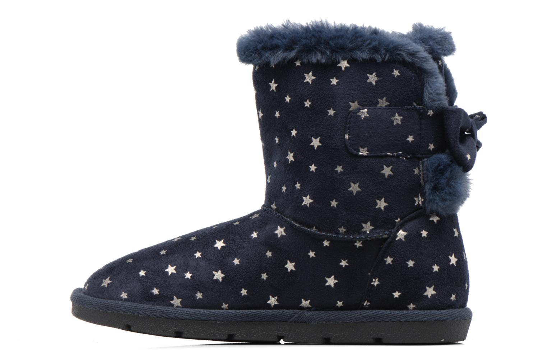 Bottes I Love Shoes FRANN Bleu vue face