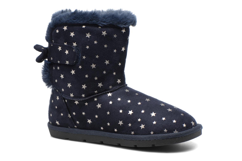 Bottes I Love Shoes FRANN Bleu vue détail/paire
