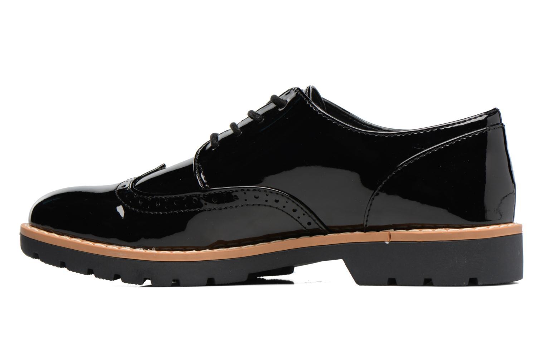 Schnürschuhe I Love Shoes FANELY schwarz ansicht von vorne